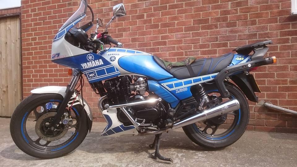 Steve Crown – Yamaha XJ900 Diversion