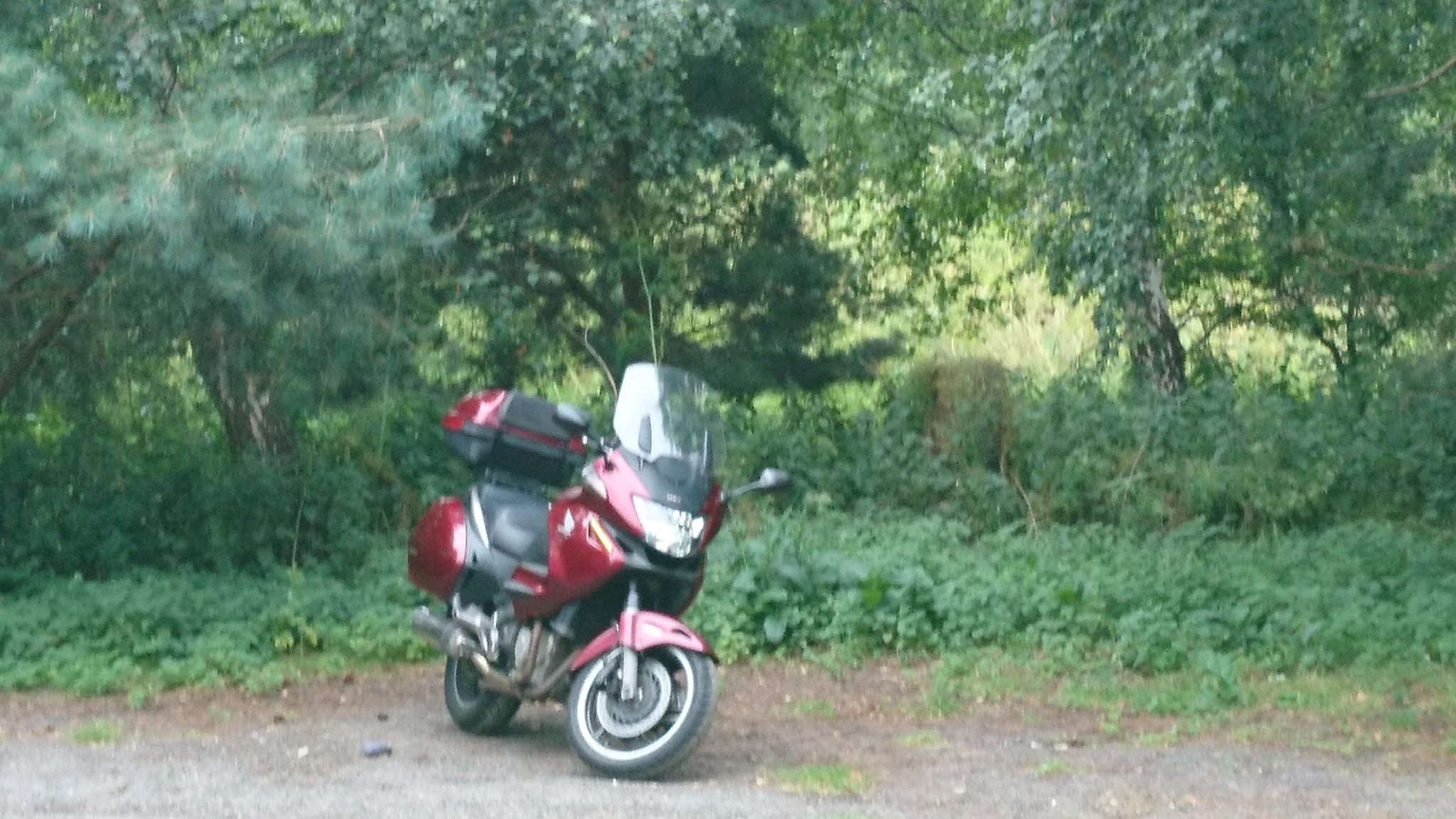 Tony Cooper – Honda NT700V Deauville