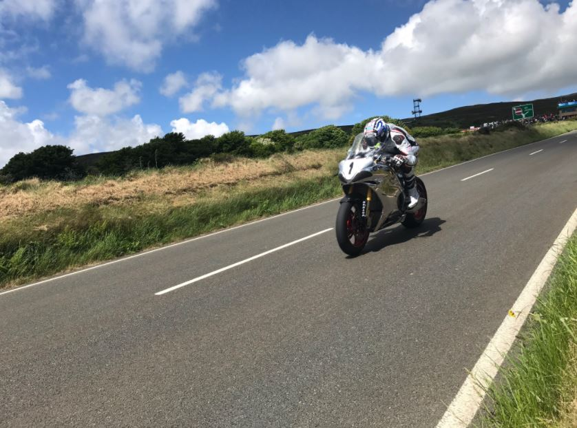 David Johnson TT 2017 image credit @Shellifumi Twitter