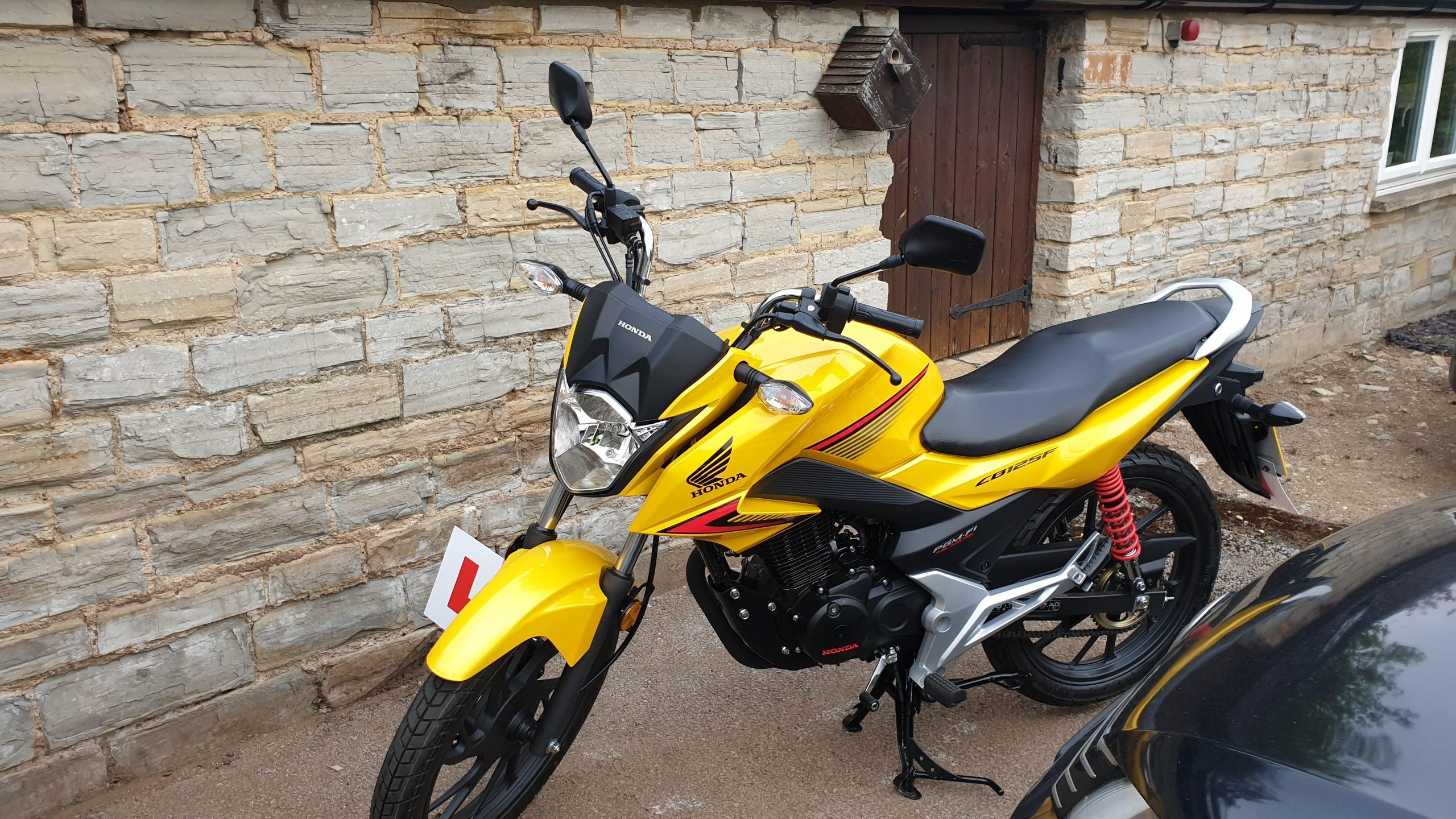 Honda CB125F – Ishtiaq Ahmed