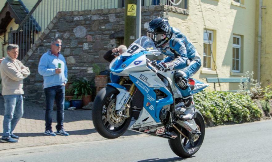 Jamie Coward TT 2017, image credit Tony Lloyd Davies