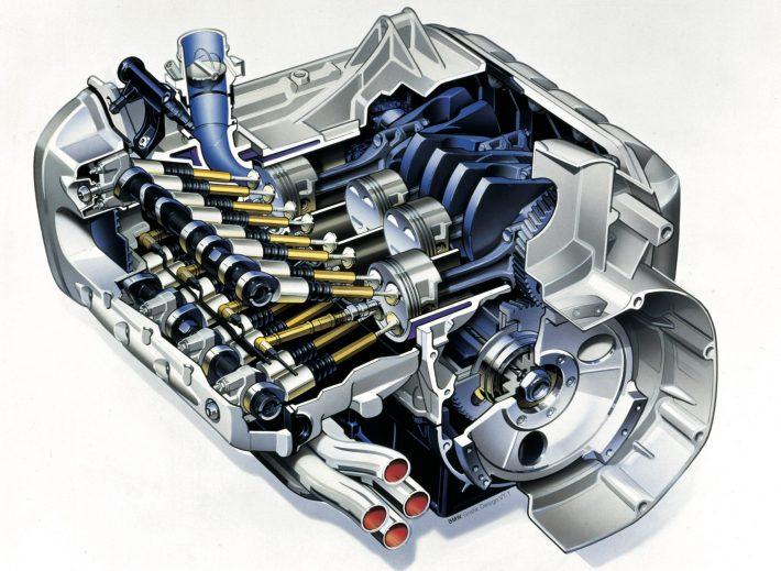 K1200 RS engine