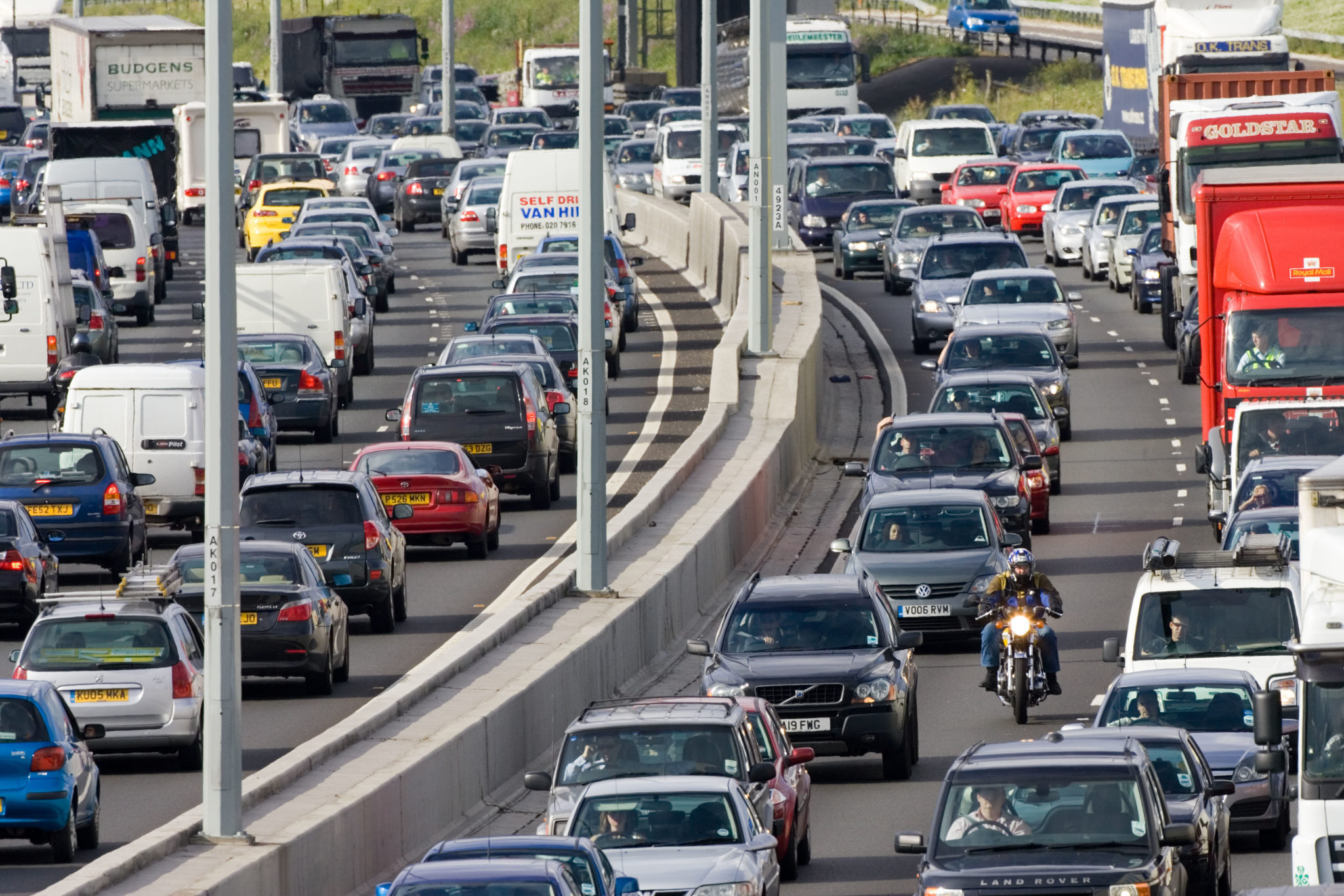 More motorcycles would reduce congestion for all