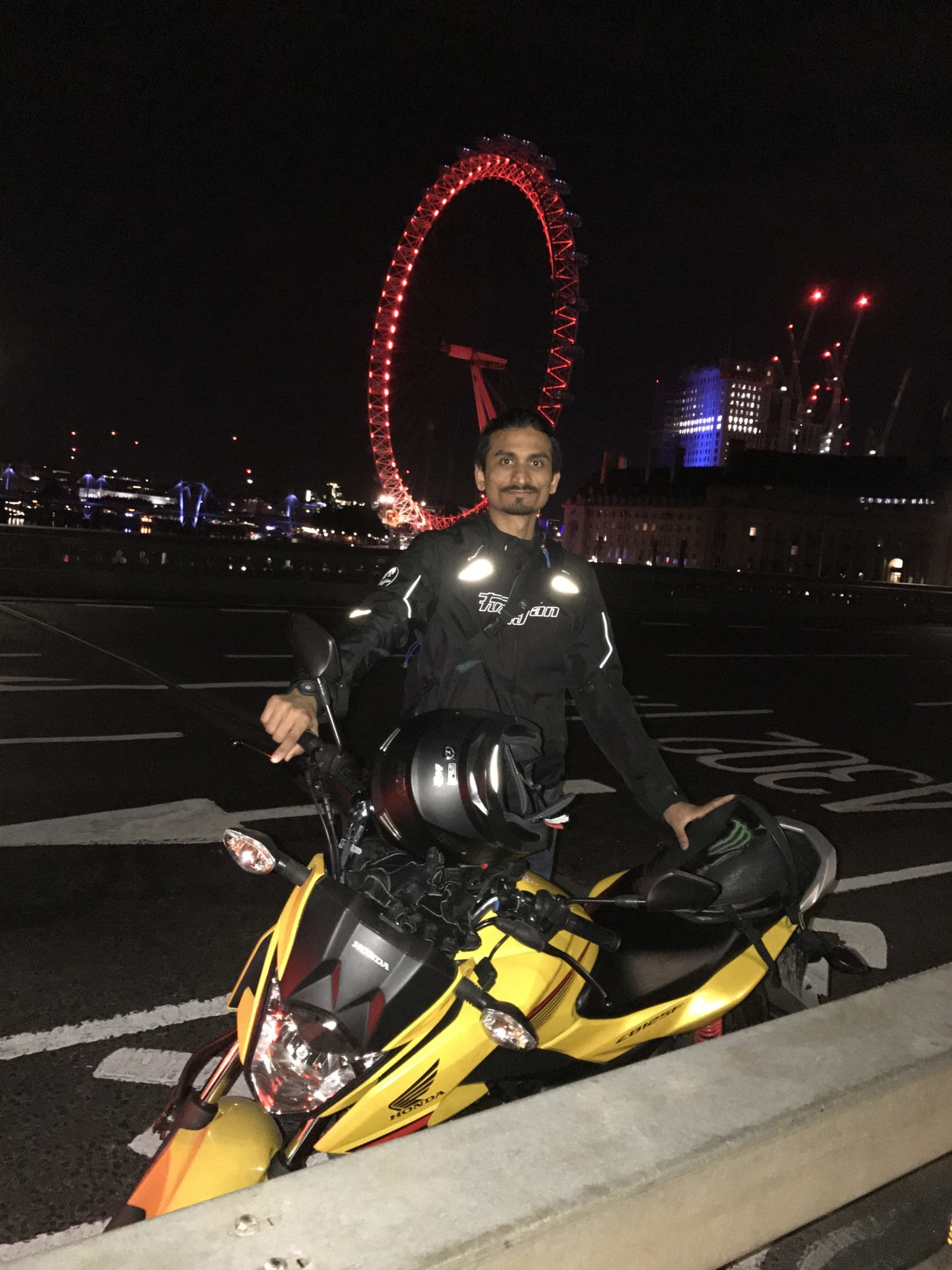 Muhammad Farhan Qazi – Honda CB125F