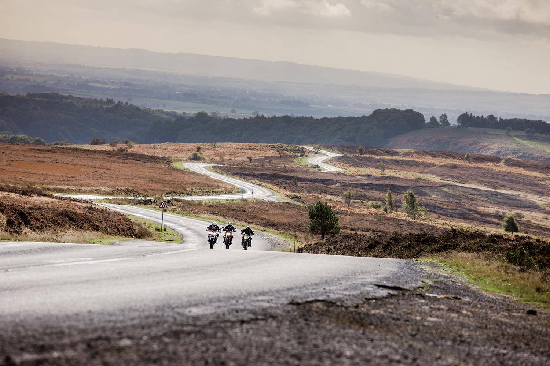 North York Moors motorcycles