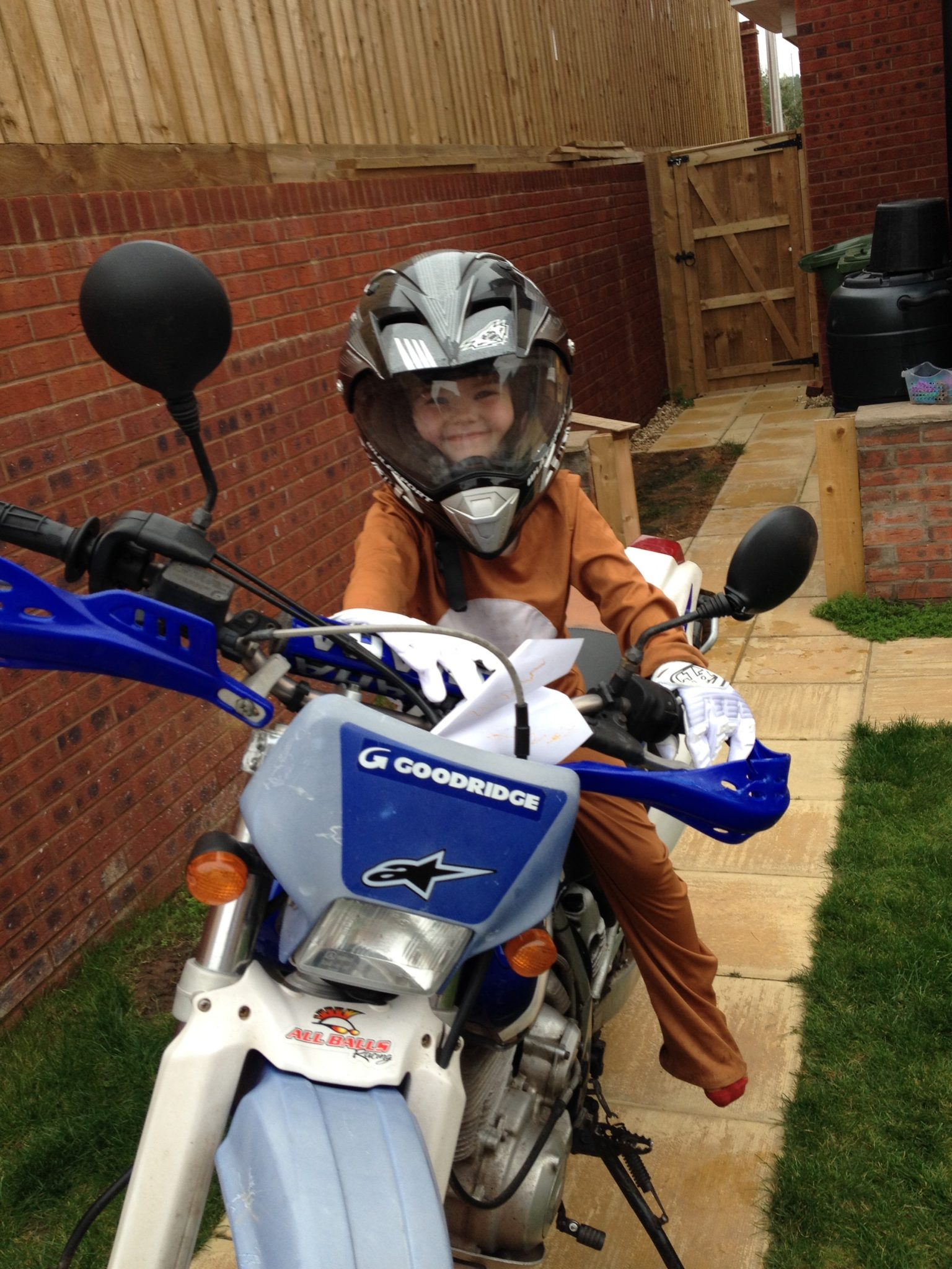 Phil – Yamaha TT600RE