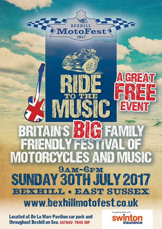 Bexhill Motofest Poster