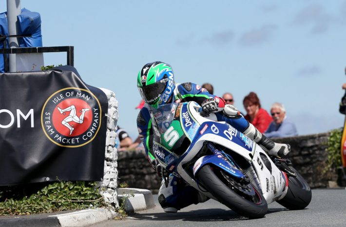 Ivan Lintin at Southern 100 2016 credit Stephen Davison - Pacemaker Press International