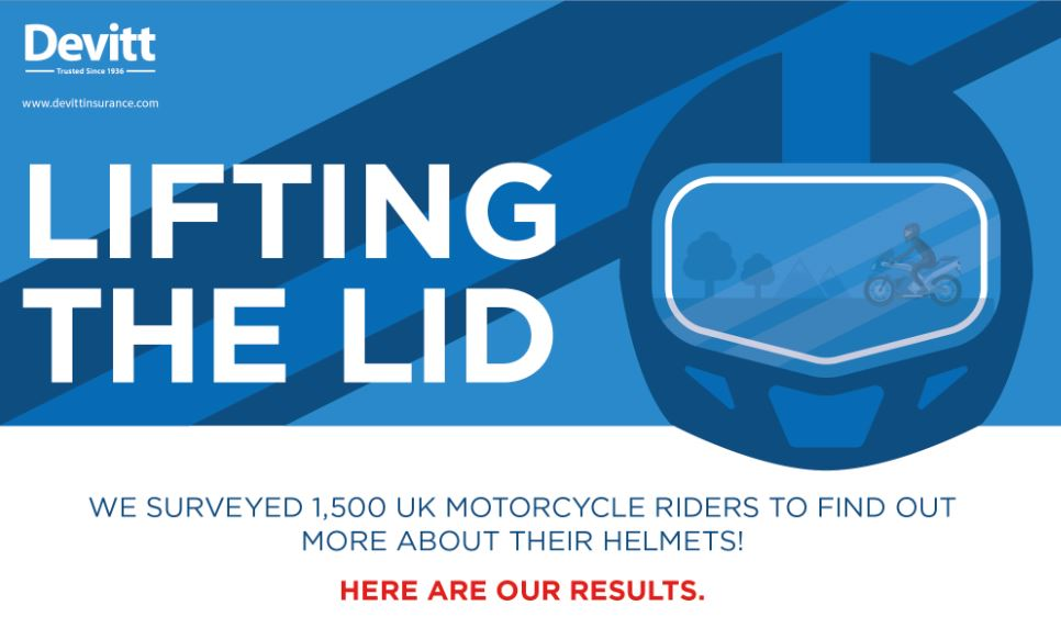 motorcycle helmet safety infographic