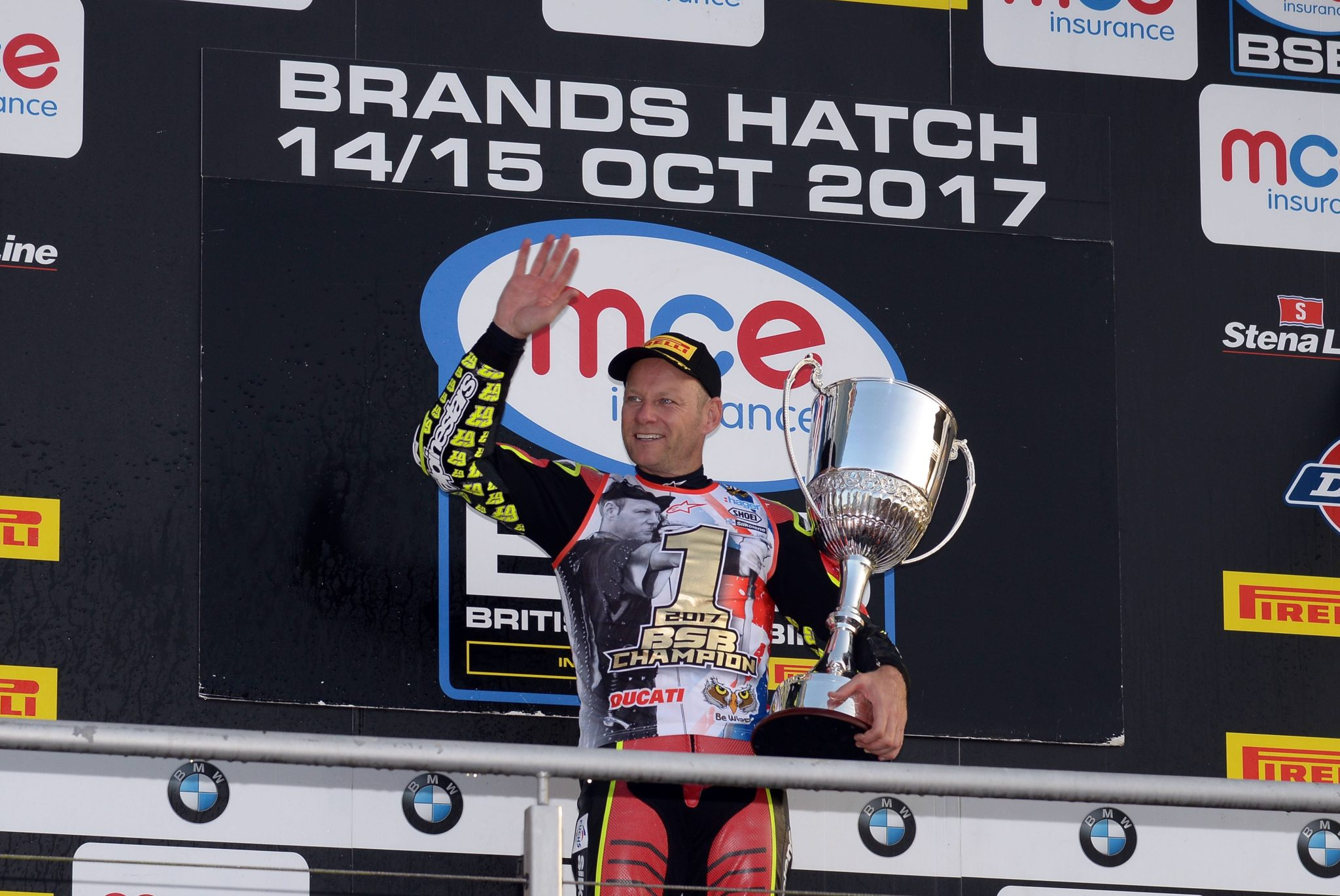 Shakey secures his sixth BSB championship title, credit Jon Jessopp Photography