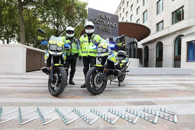 BMW Scrambler for Police