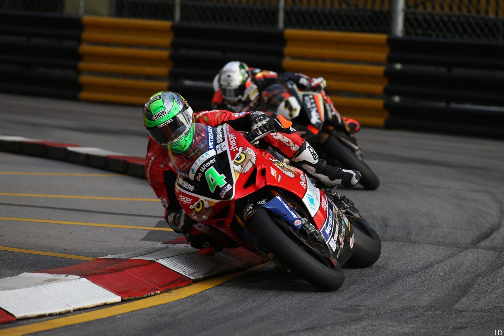 Glenn Irwin at Macau GP credit Pacemaker Press International