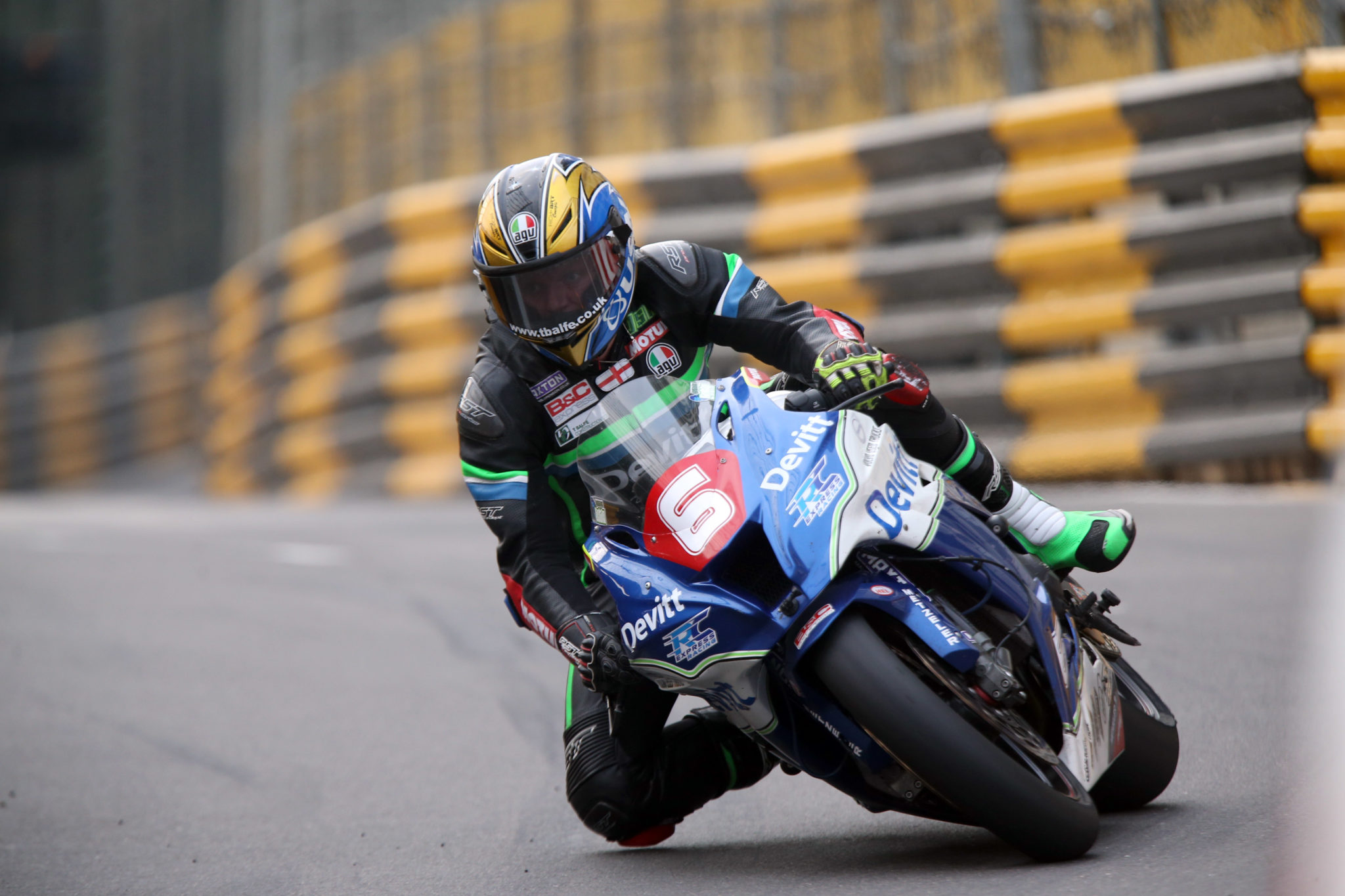 Ivan Lintin at Macau GP