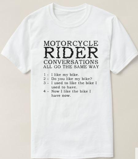 Motorcycle Rider conversation top