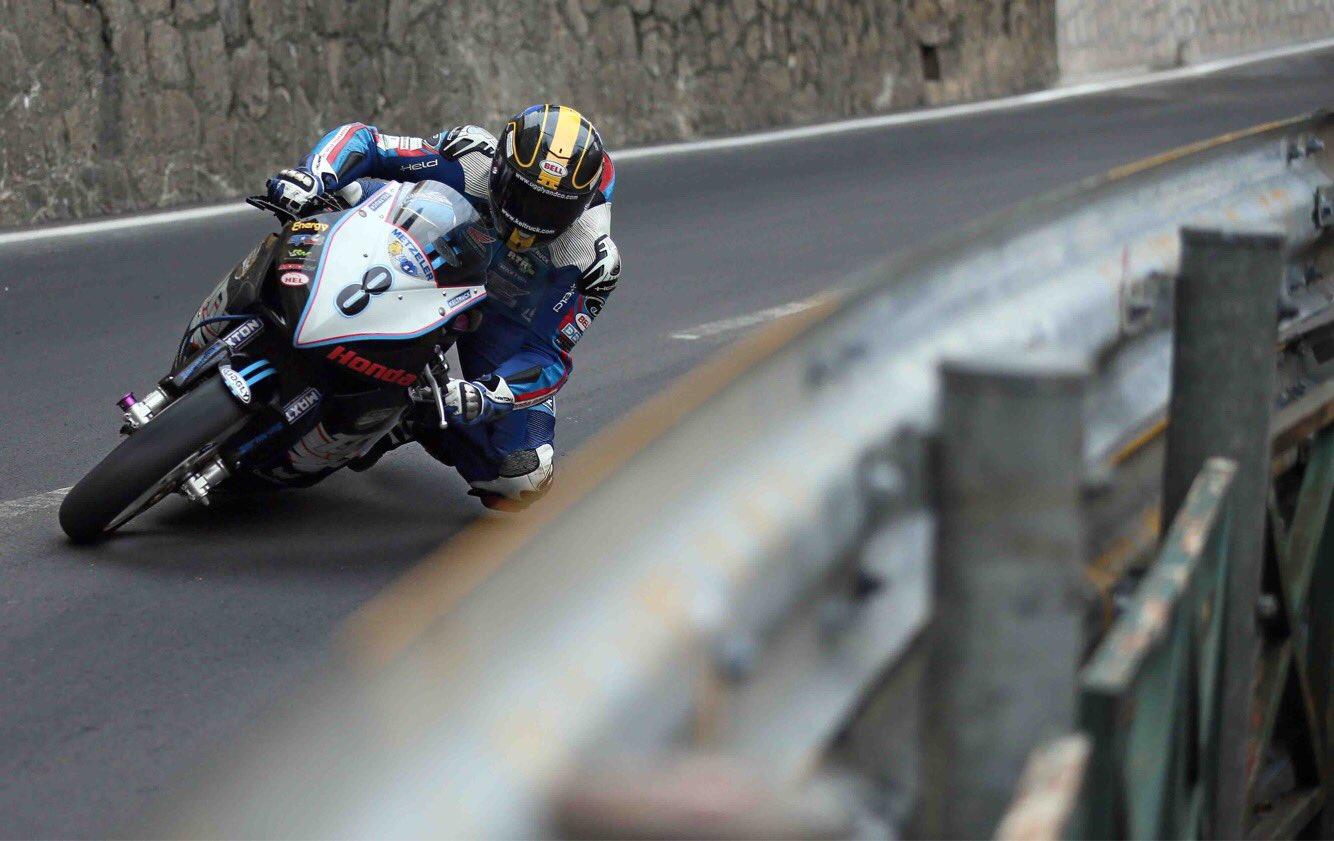 Dan Hegarty at the Macau GP credit Pacemaker Press International