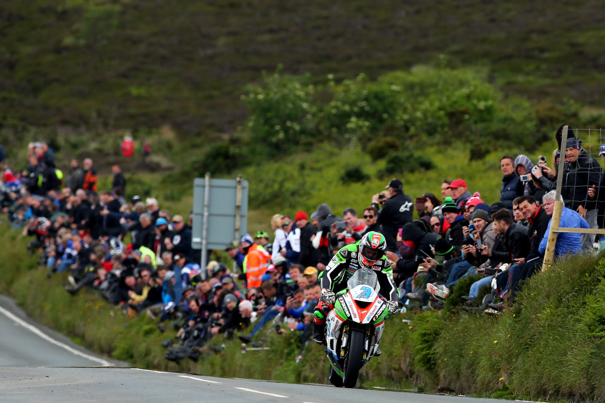 James Hillier was impressive at the TT credit Tim Keeton - Impact Images