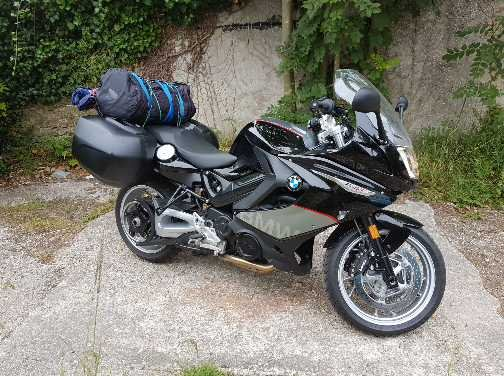 BMW F800GT – Pete Runcieman 1