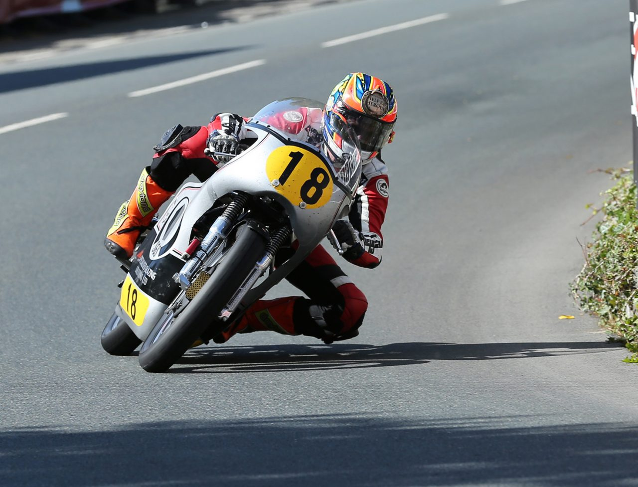 Dan Cooper at Classic TT 2014