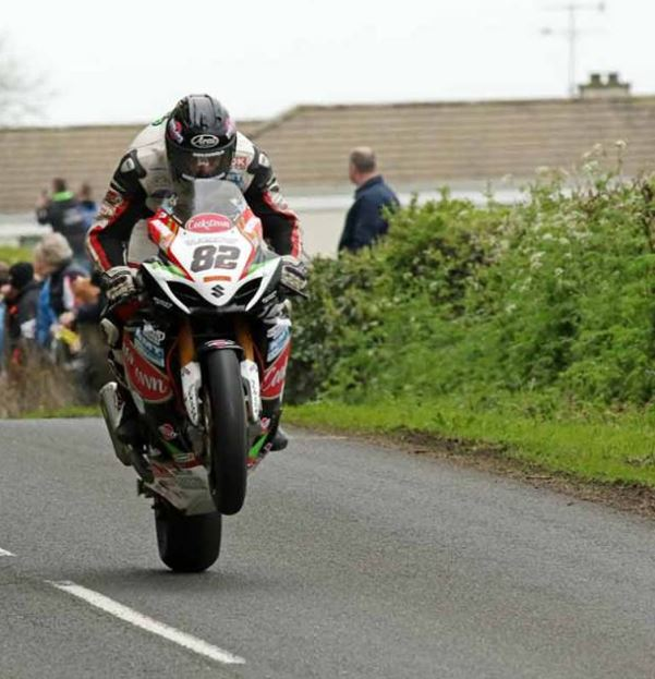 erek Sheils at Oliver's Mount last year credit @rod_neill Twitter account