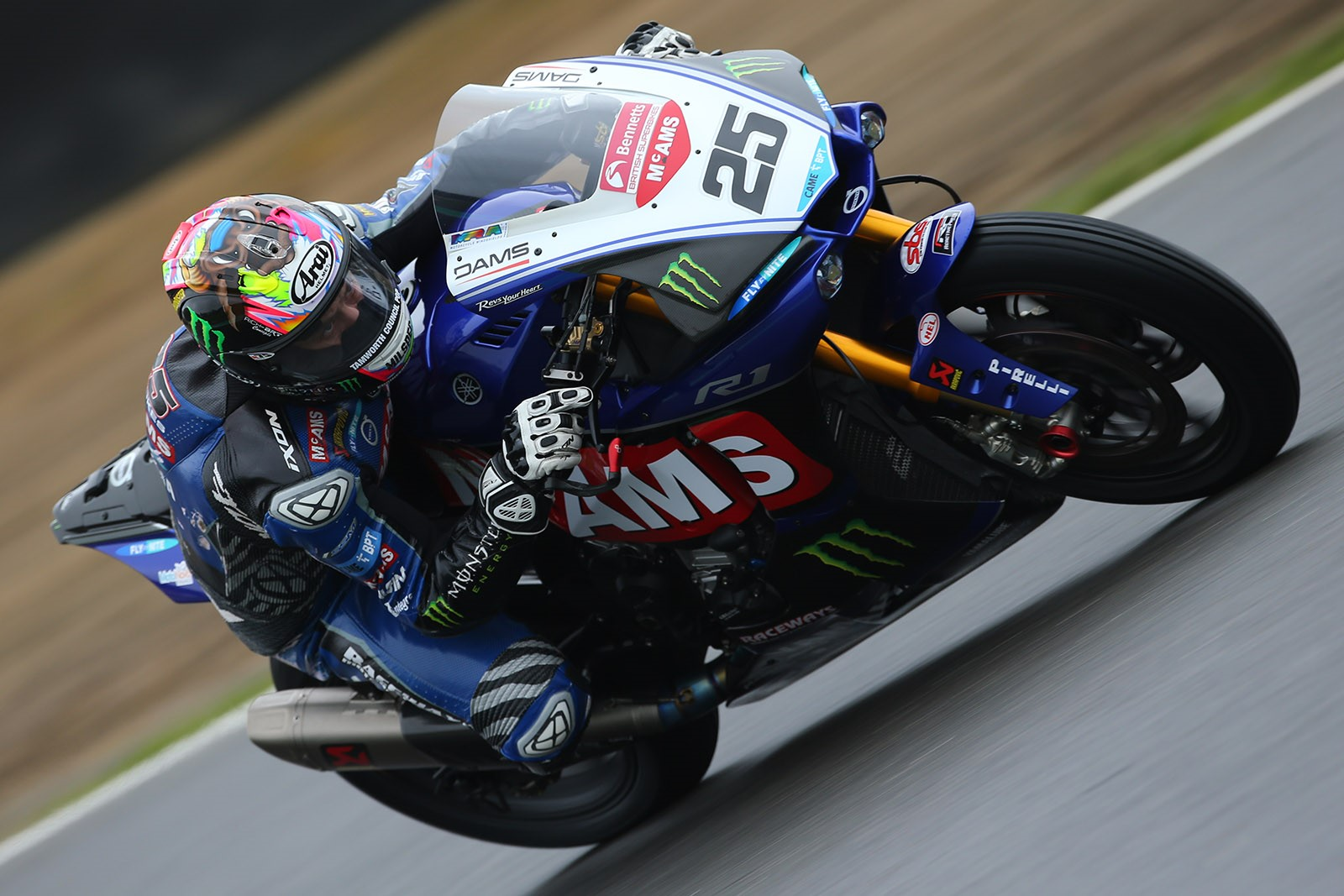 Josh Brookes will be hoping for better performances going forward credit Double Red