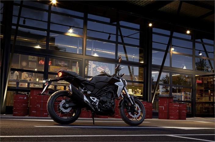 Honda CB300R credit Honda Press