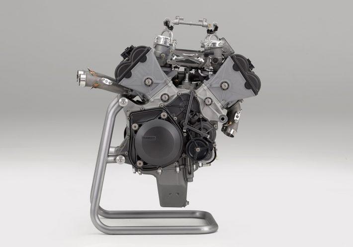 Honda V4 engine credit Honda Press