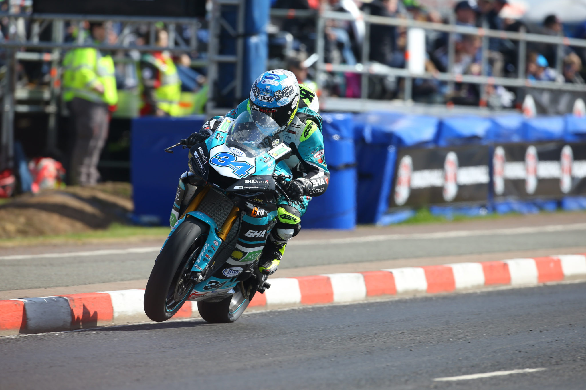 Seeley impressed at the weekend credit EHA Racing