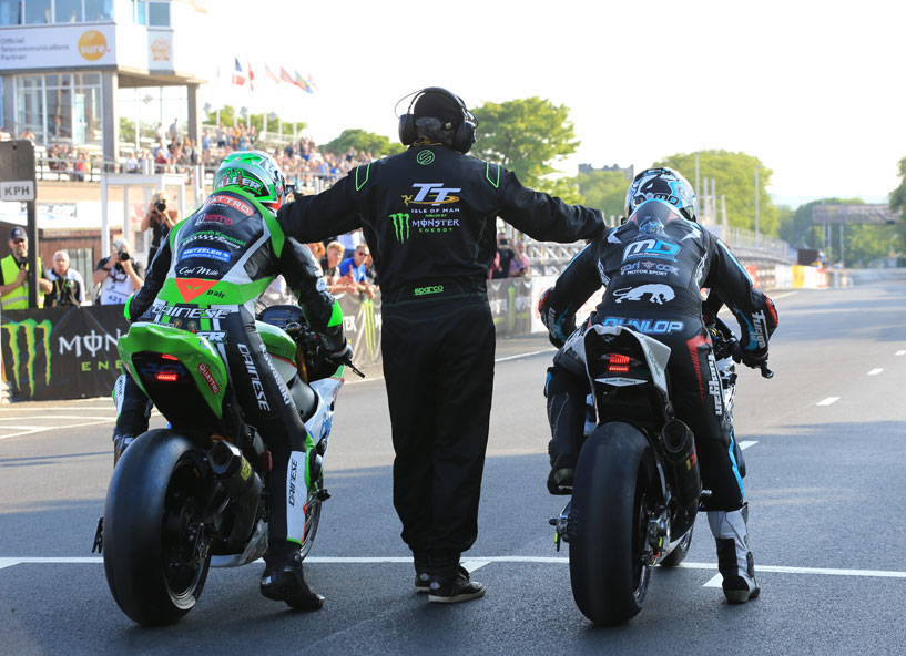Racers have not held back at all at the TT this year