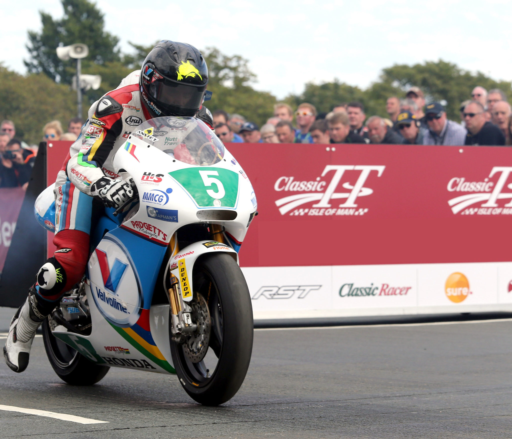 PACEMAKER, BELFAST, 27/8/2016: Bruce Anstey (Valvoline Padgetts