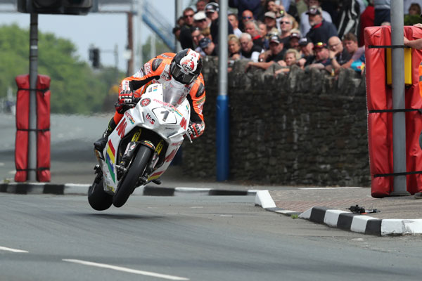 Connor Cummins gave the Manx population something to smile about credit iomtt.com