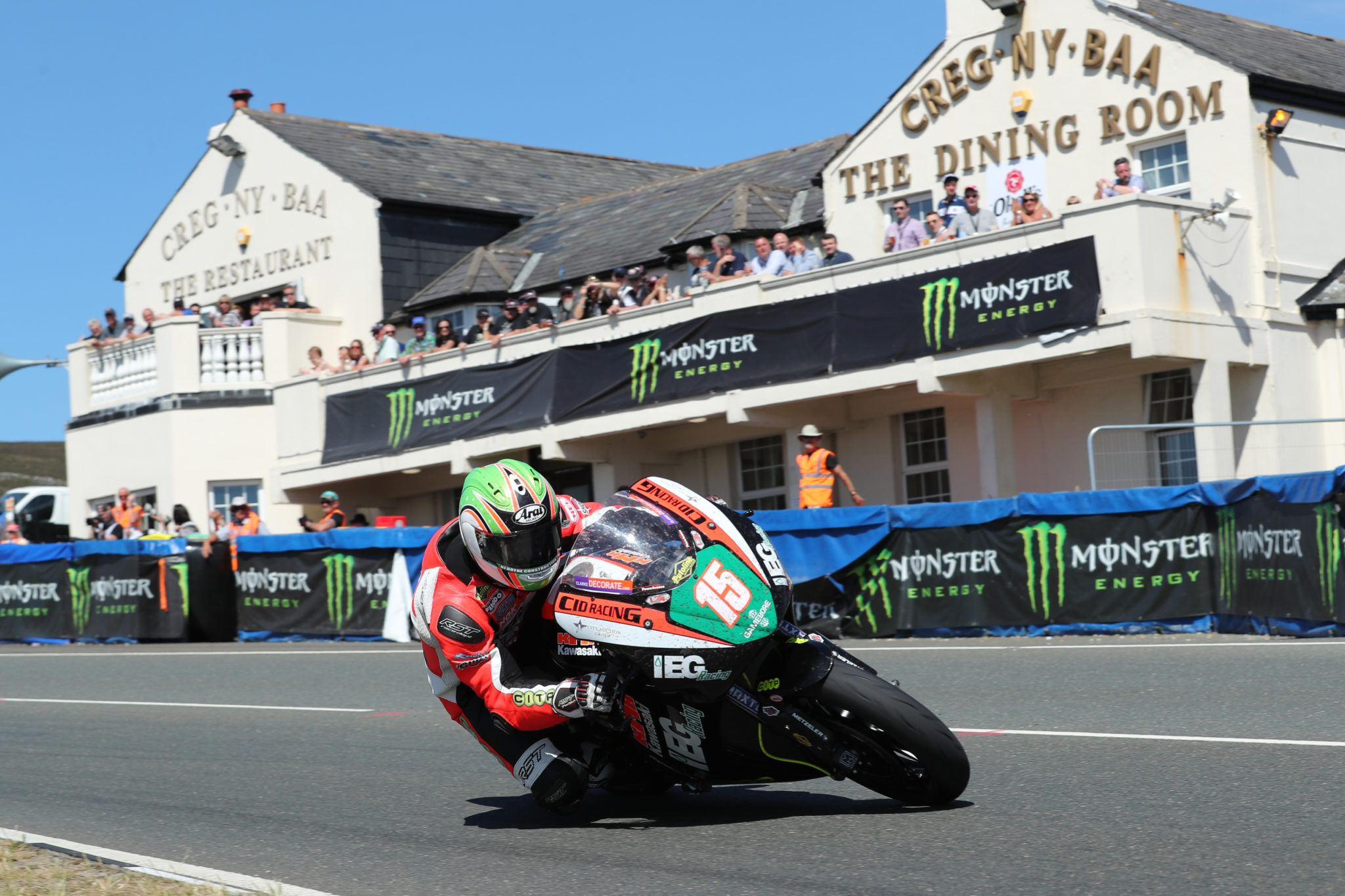 Derek McGee had his most successful TT to date in 2018 credit Pacemaker Press International