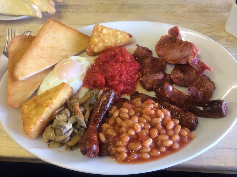 Food Stop Cafe breakfast