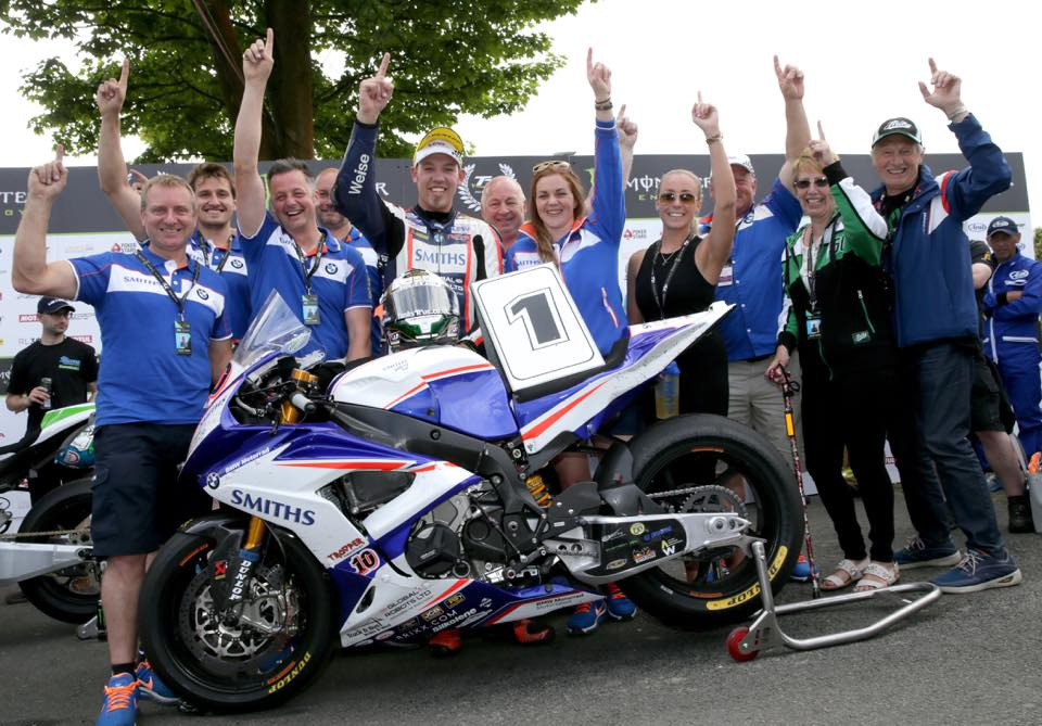Peter Hickman enjoyed a record breaking TT credit Peter Hickman's Official Facebook page