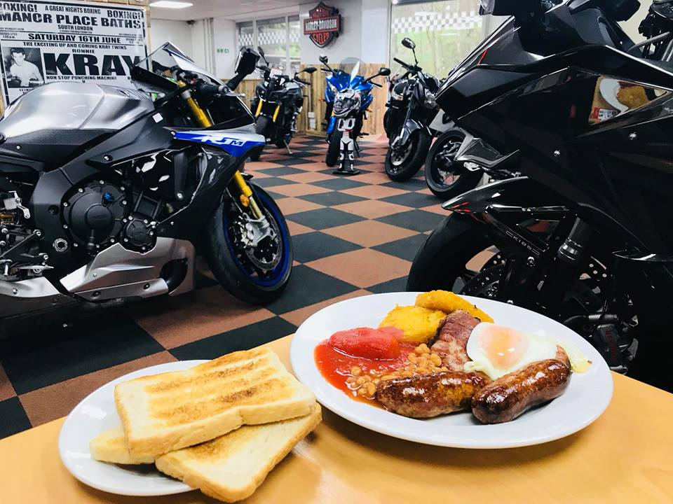 Breakfast at jems pit stop