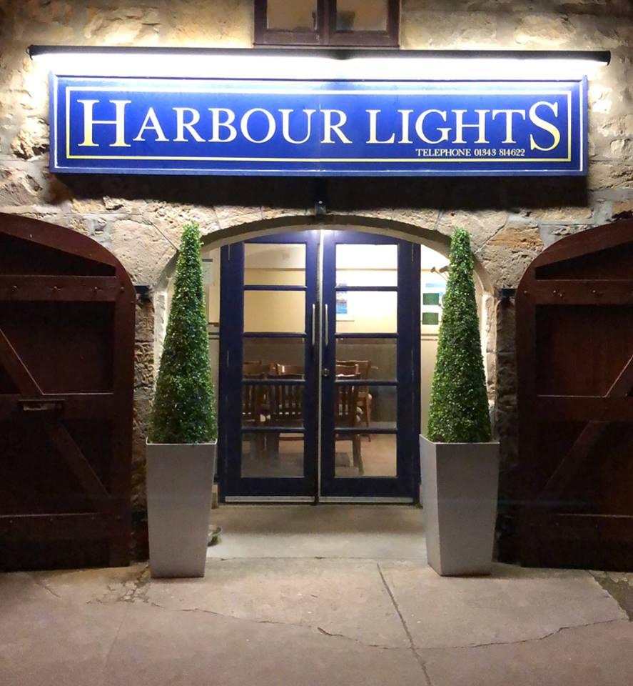 Harbour Lights Cafe front door