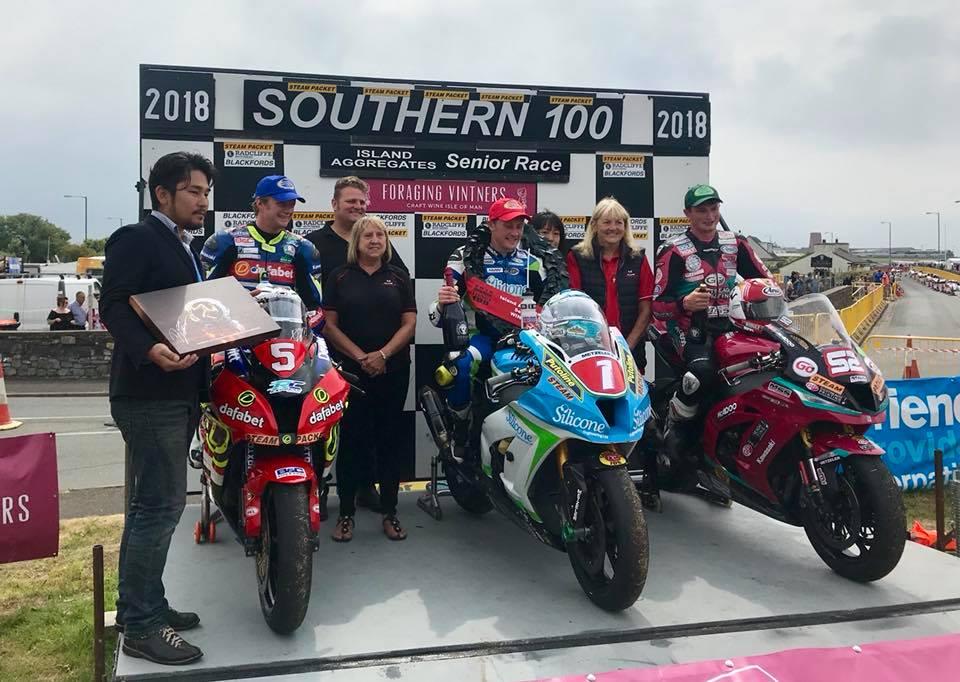 Southern 100 Podium 2018