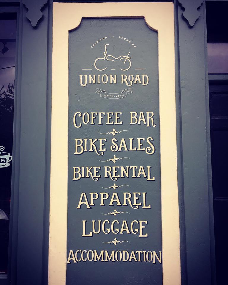 Union Road signage