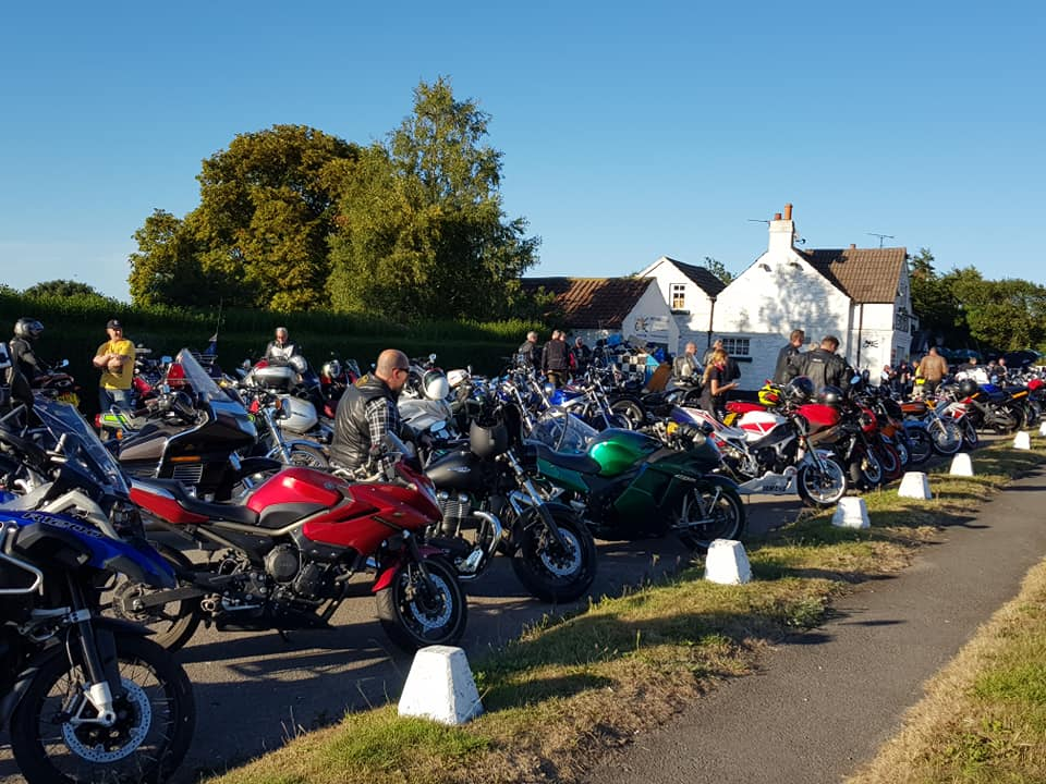 bike night at route 64 cafe