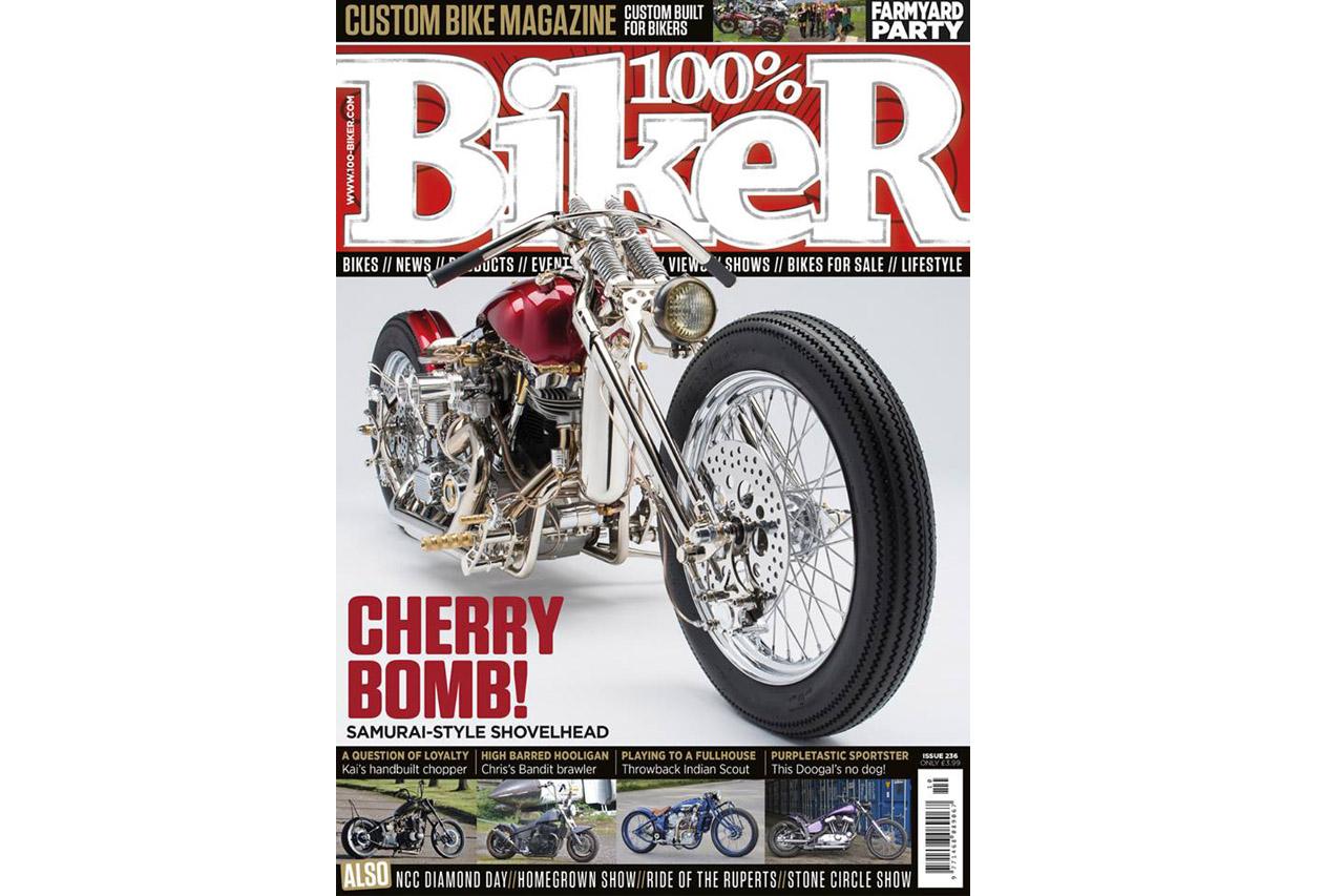 100% Biker Magazine Front Cover