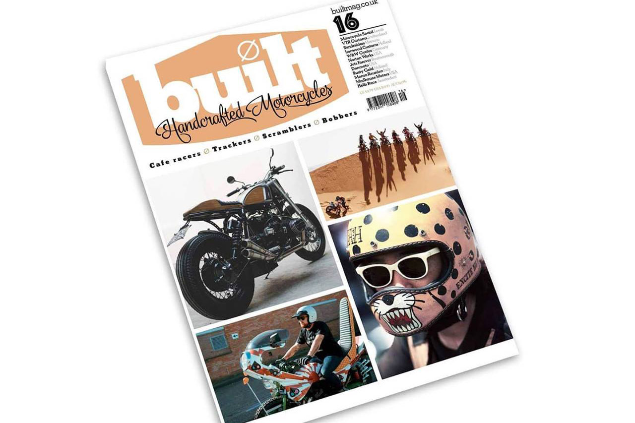 Built Magazine Front Cover