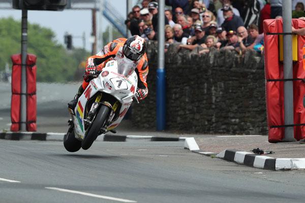 Conor Cummins impressed at the TT