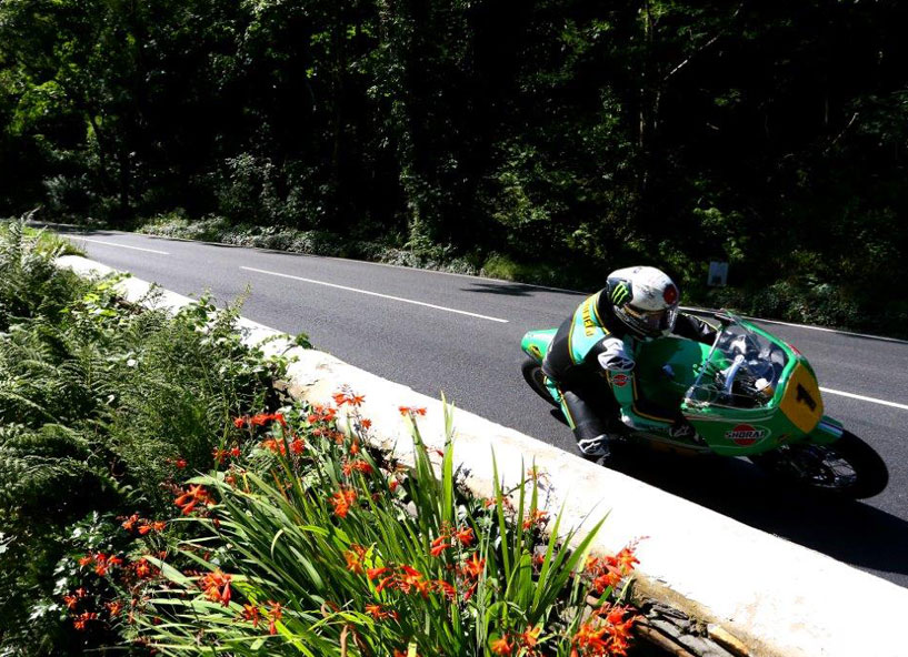 It was great to see McGuinness back in action credit iomtt.com