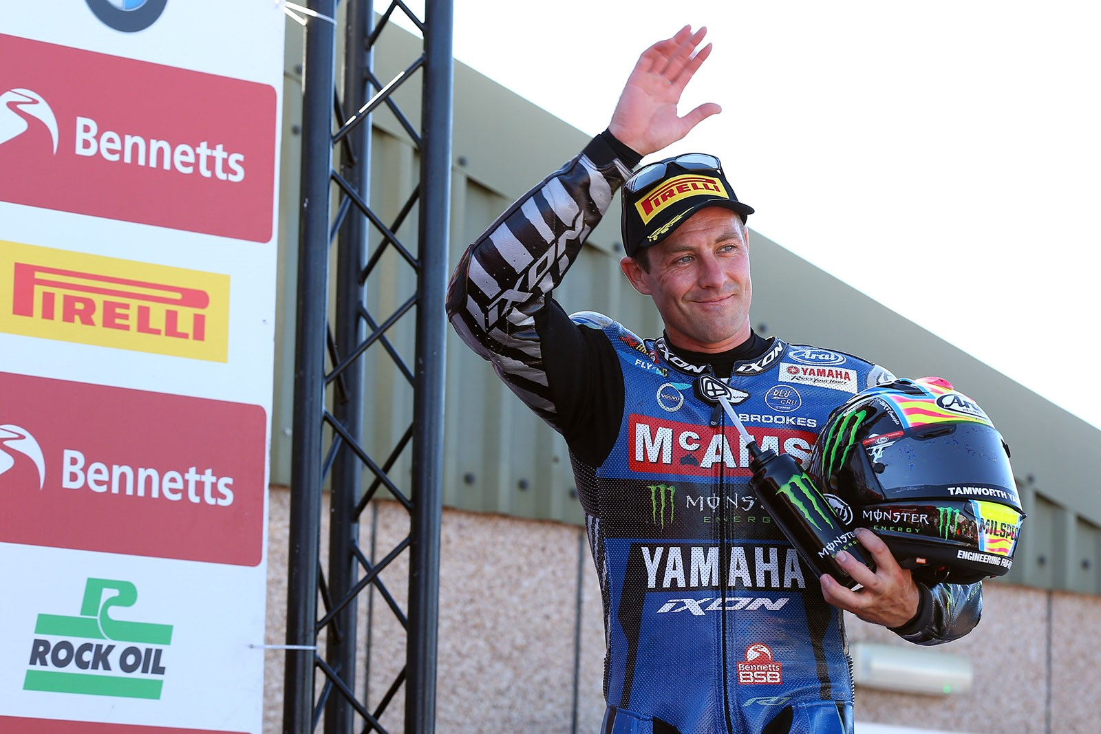 Josh Brookes following BSB victory credit Tim Keeton - Impact Images Photography