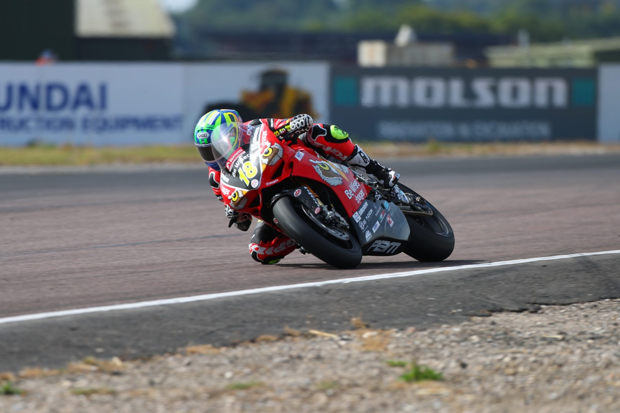 Andrew Irwin in BSB action credit Double Red