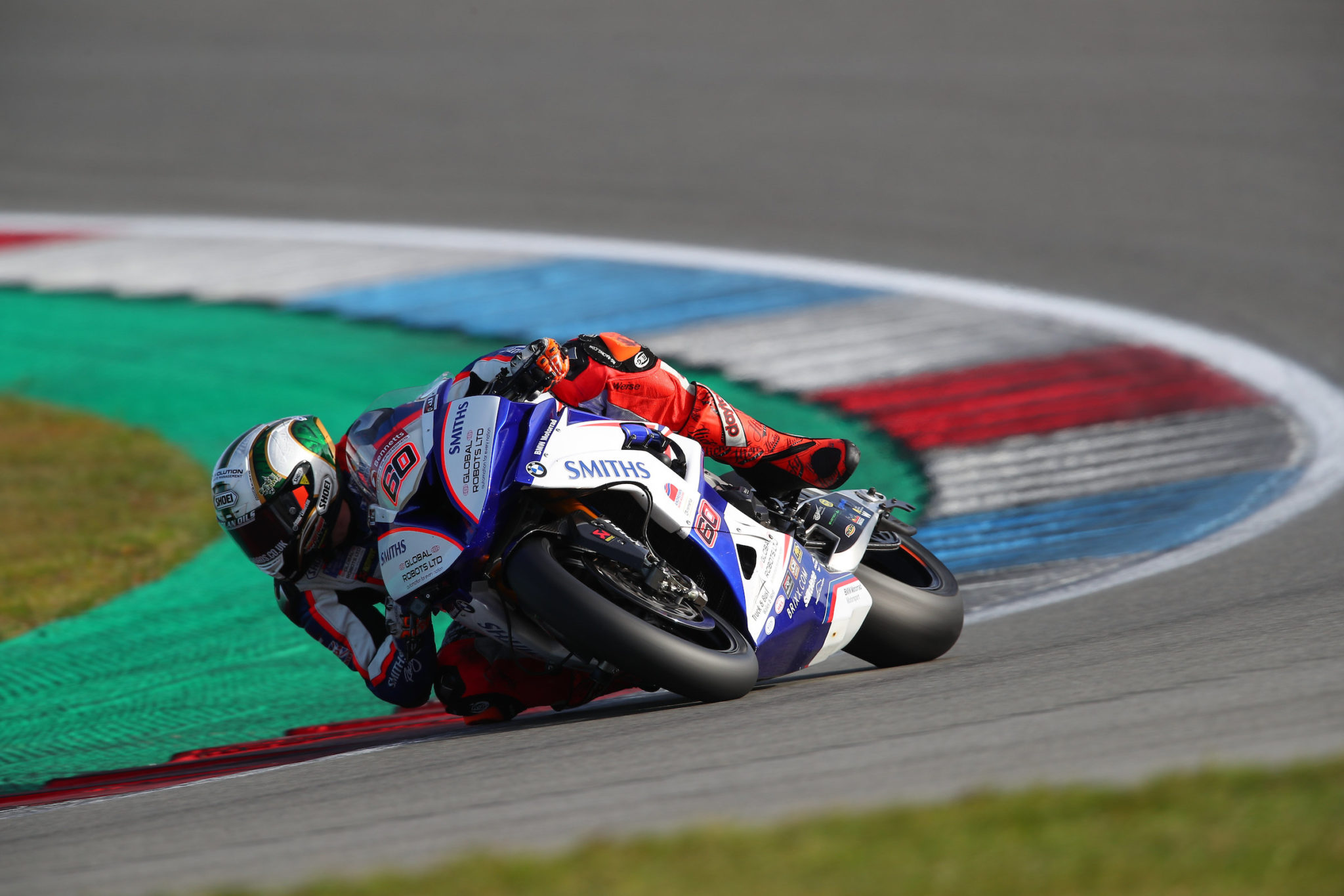 Hickman placed third and fourth in Assen credit Double Red