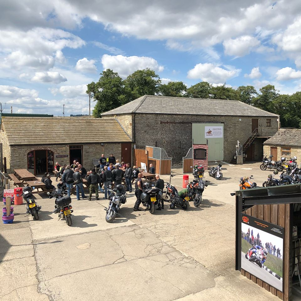 manor farm cafe bikers