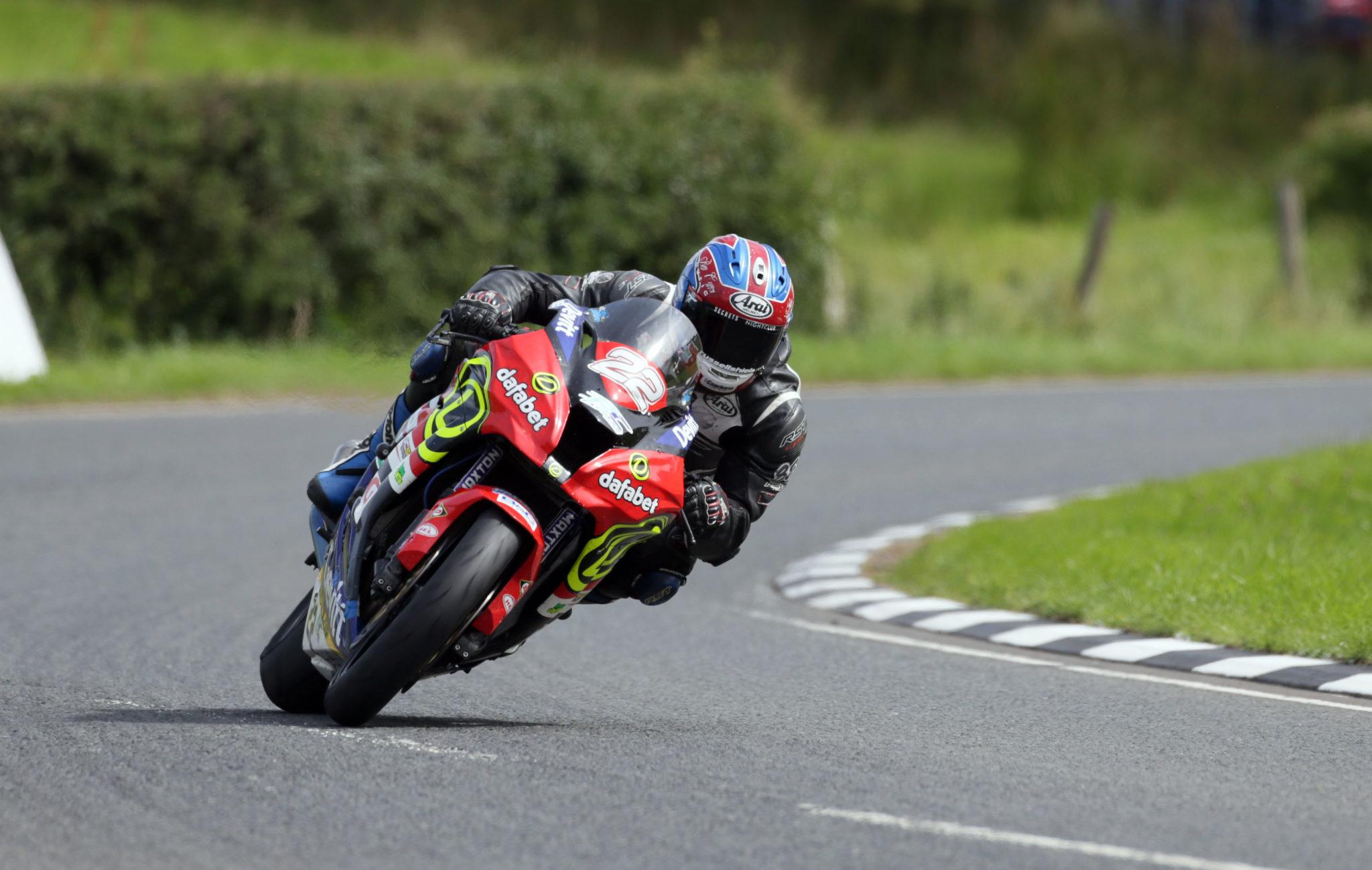 Paul Jordan at the Ulster GP credit Pacemaker Press International