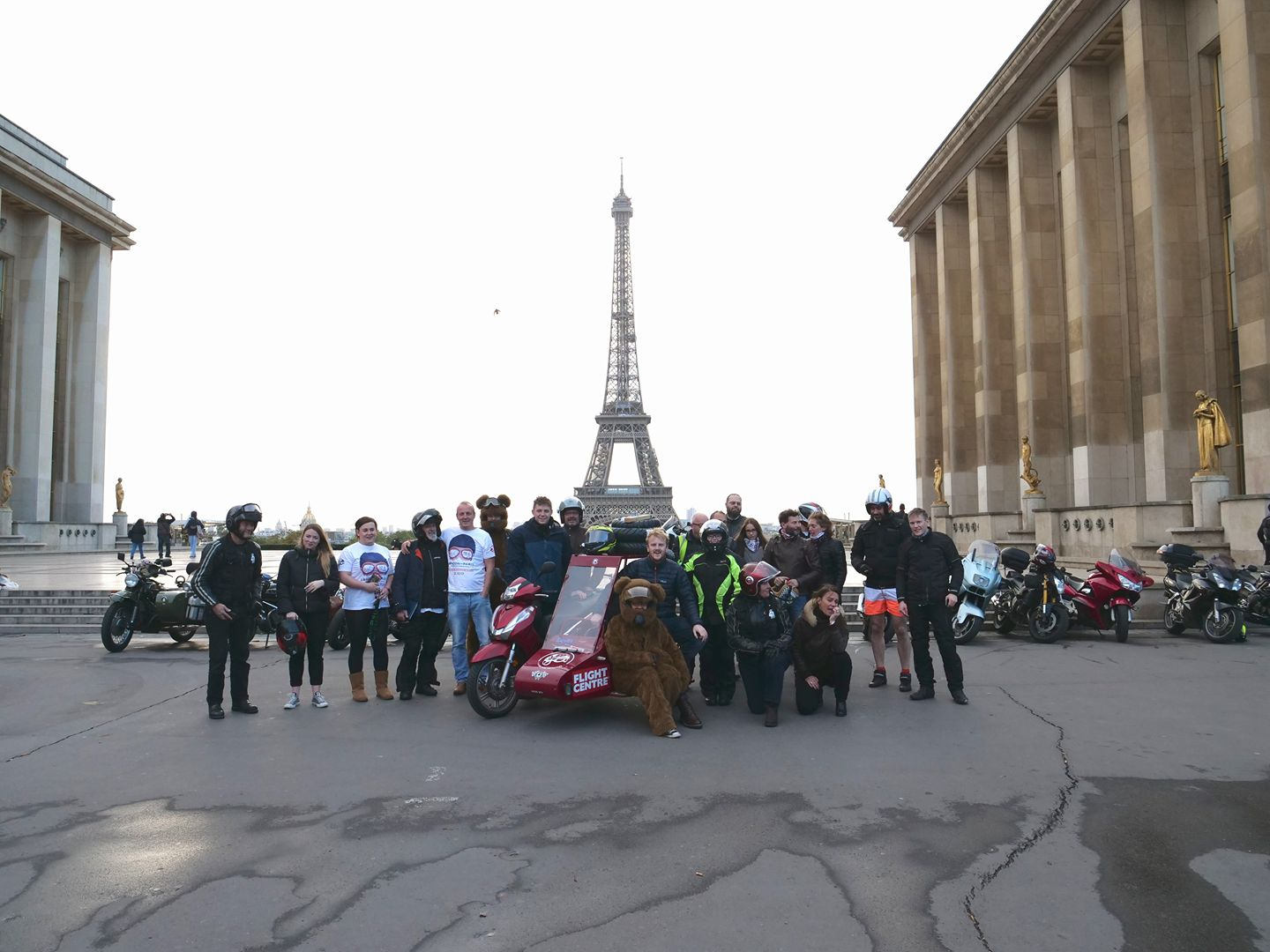 As Seen From The Sidecar Eiffel Tower