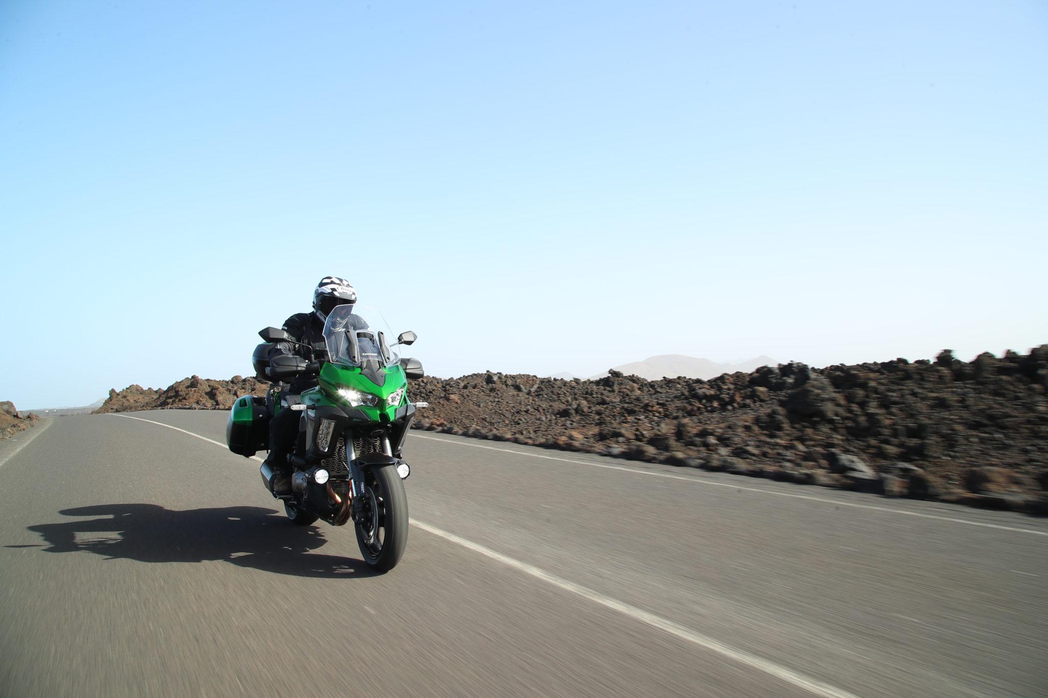 Kawasaki Versys1000 Launch