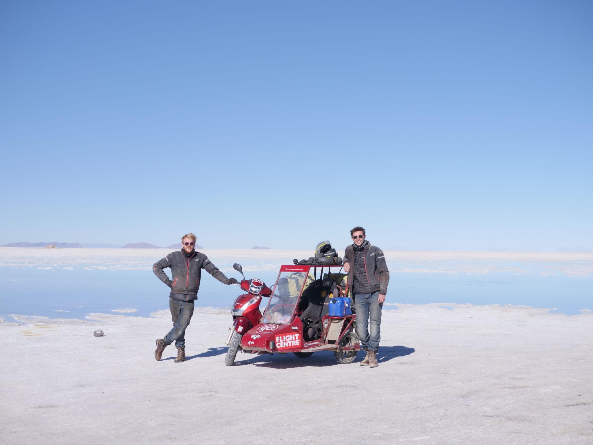 Sidecar Bonneville Salt Flats